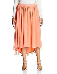 Femella Women's Asymmetric Skirt (DS-731719/515/FRS/XL)