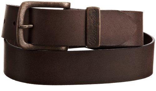Wrangler - Cintura, uomo, Marrone (Braun (Brown)), 95 cm