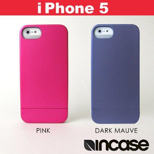 DARK MAUVE(濃藤) アップル社公認ブランドiPhoneケース 5対応incase インケースMetallic Slider Case メタリックスライダーケース スマホケース CL69042