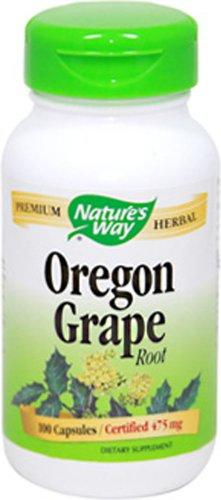 Nature's Way Oregon Grape Root 500 mg-90 Capsules (Mahonia Aquifolium Oregon Grape compare prices)