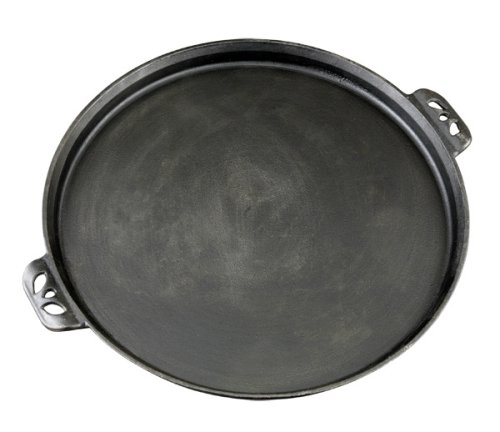Camp Chef True Seasoned 14-Inch Cast Iron Pizza Pan