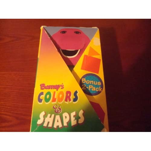 Amazon.com: Barney's Colors and Shapes [VHS]