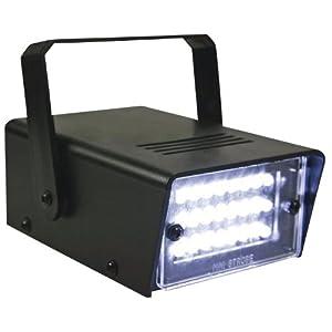 HQ Power Stroboscope miniature à LED blanches - 24 led