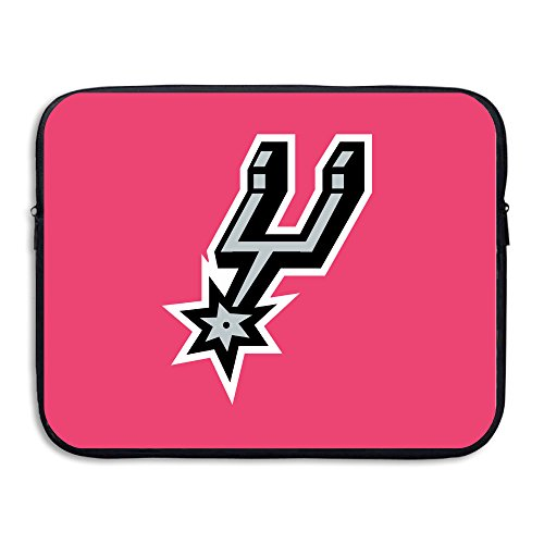 San Antonio Spurs NBA Logo Resistant Neoprene 13-15 Inch Laptop Sleeve Case Bag/ Notebook Computer Case