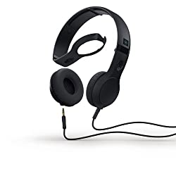 Skullcandy S5CSDY-161 Cassette Supreme Sound Headphone with Mic (Black)