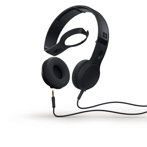 Skullcandy The Cassette Headphones With Mic In Black