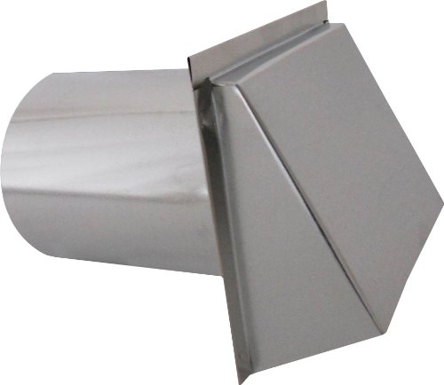 Speedi-Products SM-RWVD 8 Wall Vent Hood with Spring Damper, 8-Inch (Dryer Vent Wall Cover compare prices)