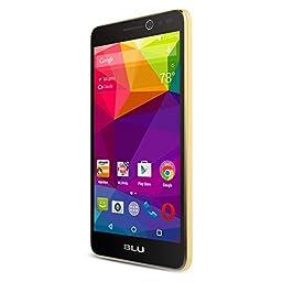 BLU Studio Selfie - Smartphone - GSM Unlocked - Gold