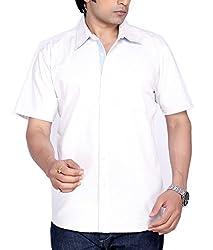 Moksh Men's Striped Casual Shirt V2IMS0414-12 (X-Large)