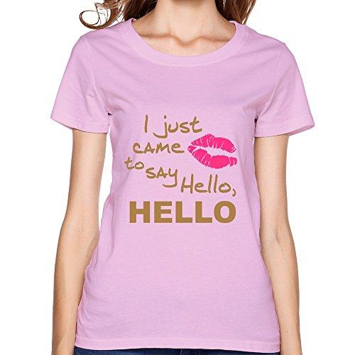 Hot Just Came Women'Stee Shirt