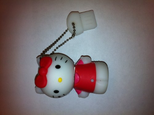 4 Gb Hello Kitty Usb In Red Dress