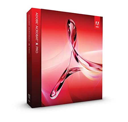 Adobe Acrobat X, Professional Version (Mac)