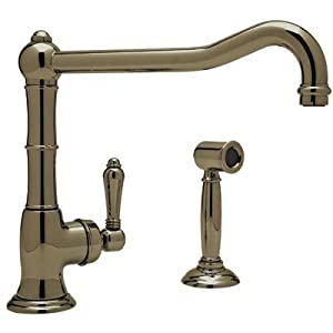 Rohl A3650 11LPWSTCB 2 Country Single Handle Kitchen