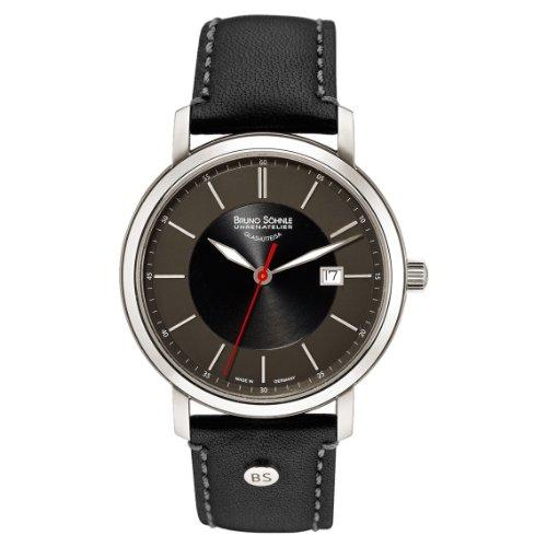 Bruno Söhnle Men's Watch Analogue Quartz Leather Legato 17-13138Pump