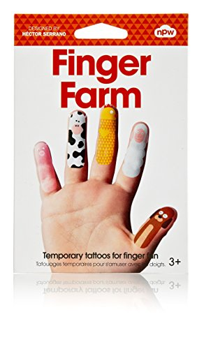 Finger Farm Temporary Tattoos - 1