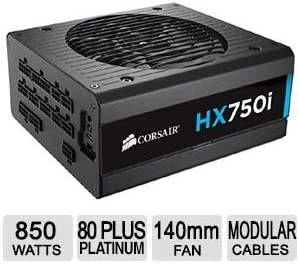 Corsair HX750i 750W Power Supply