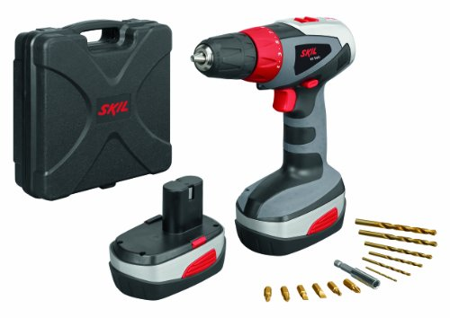 Skil 1003 18V Cordless Drill Driver with 2 Battery and Accessories