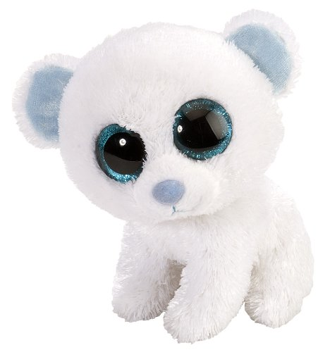 Wild Republic L'Il Sweet & Sassy Polar Bear Marshmallow Plush - 1