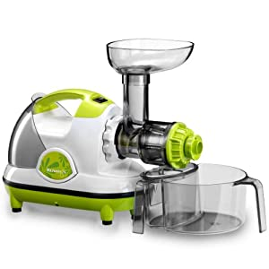 Omega Slow Juicer Review : Amazon.com: Kuvings Juicer Wheatgrass Professional 170W Quiet - NJE3530U: Electric Masticating ...