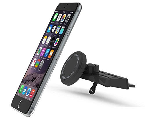 #1 Magnetic Mount- Infiniapps The Original Patented Slyde Cd Slot Mount, Car Phone Mount For Smartphones