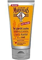 Le Petit Marseillais Soin Capillaire le Petit Soin sans Rinçage Cheveux Secs au Lait de Karité et au Miel 75 ml - Lot de 2