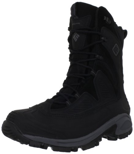 Columbia Men's Snowtrek XTM Snow Boot,Black/Charcoal,11 M US