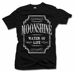 WATER OF LIFE MOONSHINE DRINKING T-SHIRT Men's Tee (6.1oz)