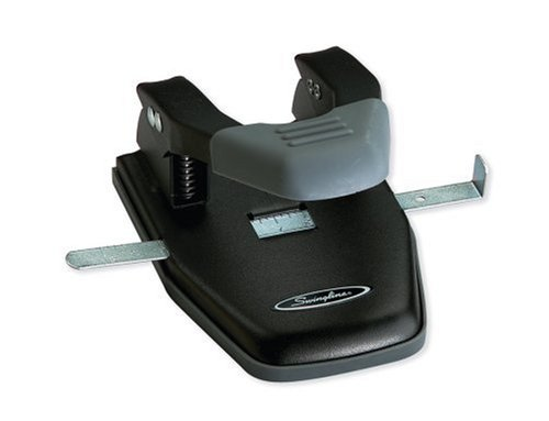 Swingline Comfort Handle 2 Hole Paper Punch (A7074050D)