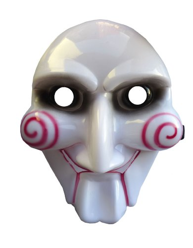 White Red Scary 3d Saw Horror Movie Film Fancy Dress Halloween Party Mask