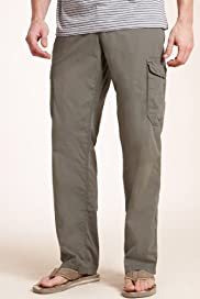 Utility Pure Cotton Cargo Trousers [T17-6004B-S]