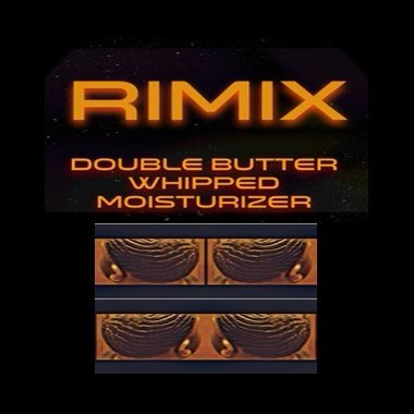 Rimix Cake Batter and Ice Cream Double Butter Whipped Moisturizer