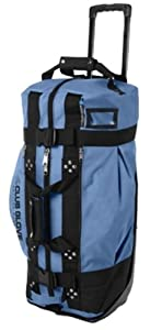 Club Glove Rolling Duffle 2 Blue Steel by Club Glove
