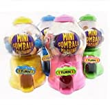 12 x Mini Gumball Machine - Fun Sweets Dispenser - Wholesale Bulk Buy