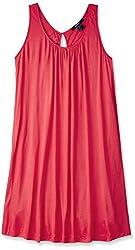 Gant Women's Cotton Shift Dress (GADR0049_Pink_Medium)