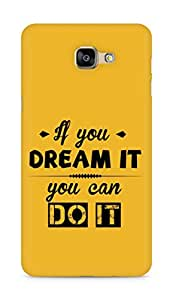 Amez If you can Dream it You can do it Back Cover For Samsung Galaxy A9