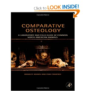 Comparative Osteology: A Laboratory and Field Guide of Common North American Animals Bradley Adams and Pam Crabtree