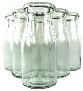 Half-Pint Milk Bottle, set of 6