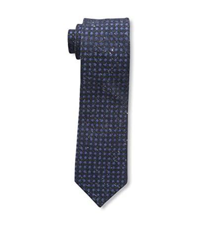Bruno Piattelli Men's Boucle Textured Tie, Blue