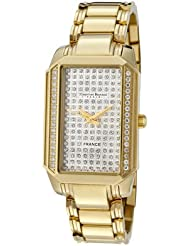 Women's Heritage Pave Cubic Zirconia Dial Stainless Steel