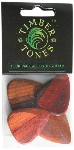 Timber Tones P4-Acoustic Acoustic Sampler Guitar Picks