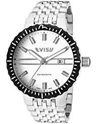 EVISU Men's EV-7011-22 Suzuka Gold-Tone Swiss Automatic Stainless Steel Watch