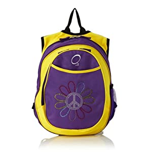 O3 Kid's All-in-One Pre-School Backpacks Peace
