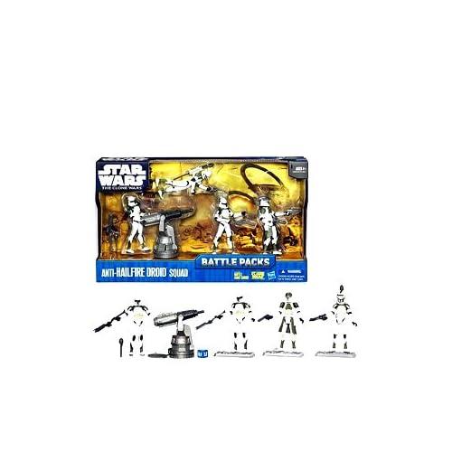 Star Wars The Clone Wars Battle Pack Anti-Hailfire Droid Squad 19680 jetzt bestellen
