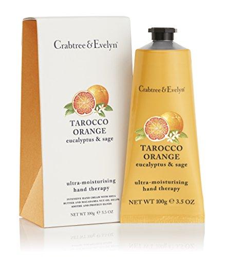 Crabtree & Evelyn Tarocco arancio, eucalipto e terapia della mano ultra-idratante salvia, 1er Pack (1 x 100g)