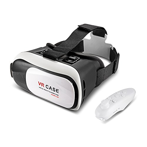 3D VR Glasses for Iphone 6 With Remote Control and with Iphone and Suitable for Iphone,Android 4.7~6.0 Inch screen