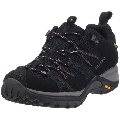 Merrell Siren Sport Gore-Tex®, Women's Trekking and Hiking Shoes, J544892, Black, 3 UK