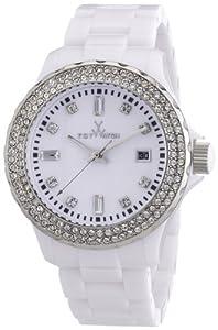 Toy Watch Women's PCLS22WH Quartz White Dial Plastic Watch