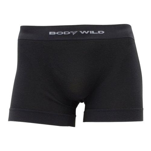 (ボディーワイルド)BODY WILD Basic style 立体成型ボクサーブリーフ(前とじ) BWS899G 97 ブラック L