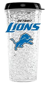 Detroit Lions Crystal Freezer Travel Tumbler by Unknown