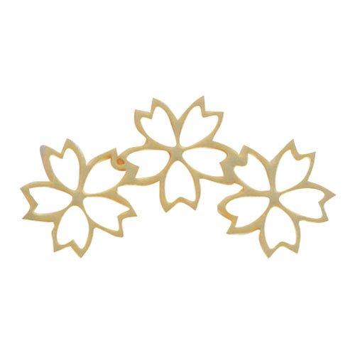 リトルプリティー チェリーブロッサム3連スカシ ゴールド 10個 LPー0602G